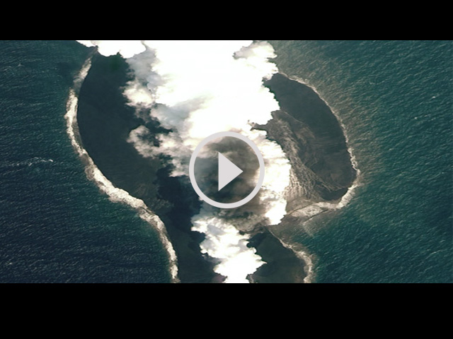 โลกตะลึง ! ผุดเกาะใหม่ 2 เกาะ กลางทะเลแดง