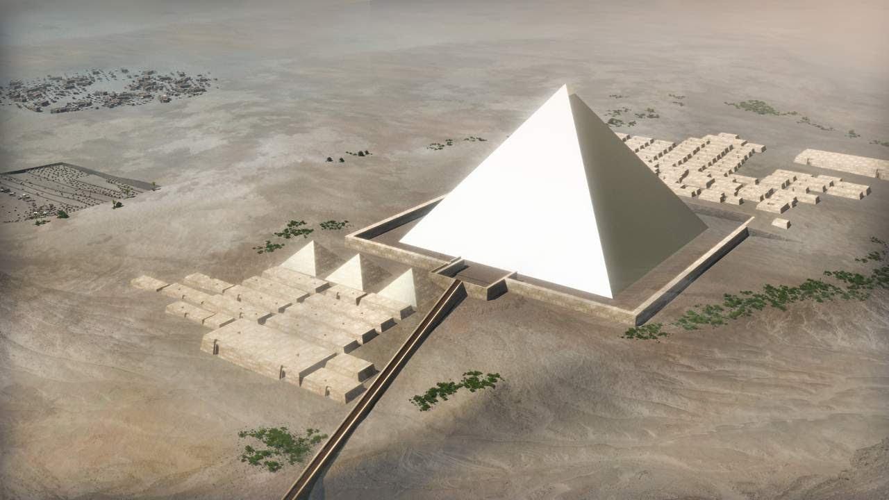 เผยคลิปปริศนาหลายพันปี นี่แหละคือวิธีที่คนอียิปต์ใช้สร้างพีระมิด!