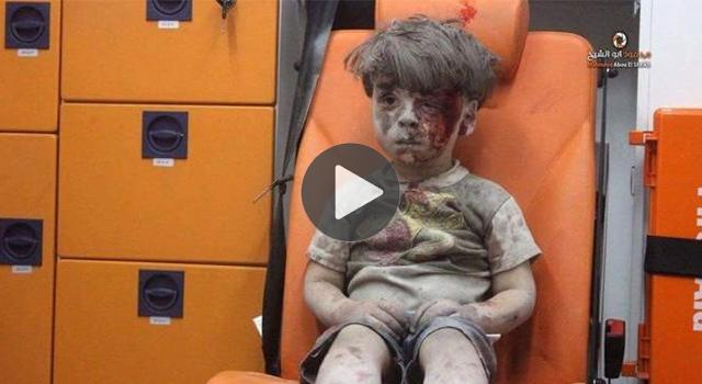 ย้อนภาพ ออมราน ดัดนีช แววตาสุดเศร้า สะท้อนการสู้รบในซีเรีย