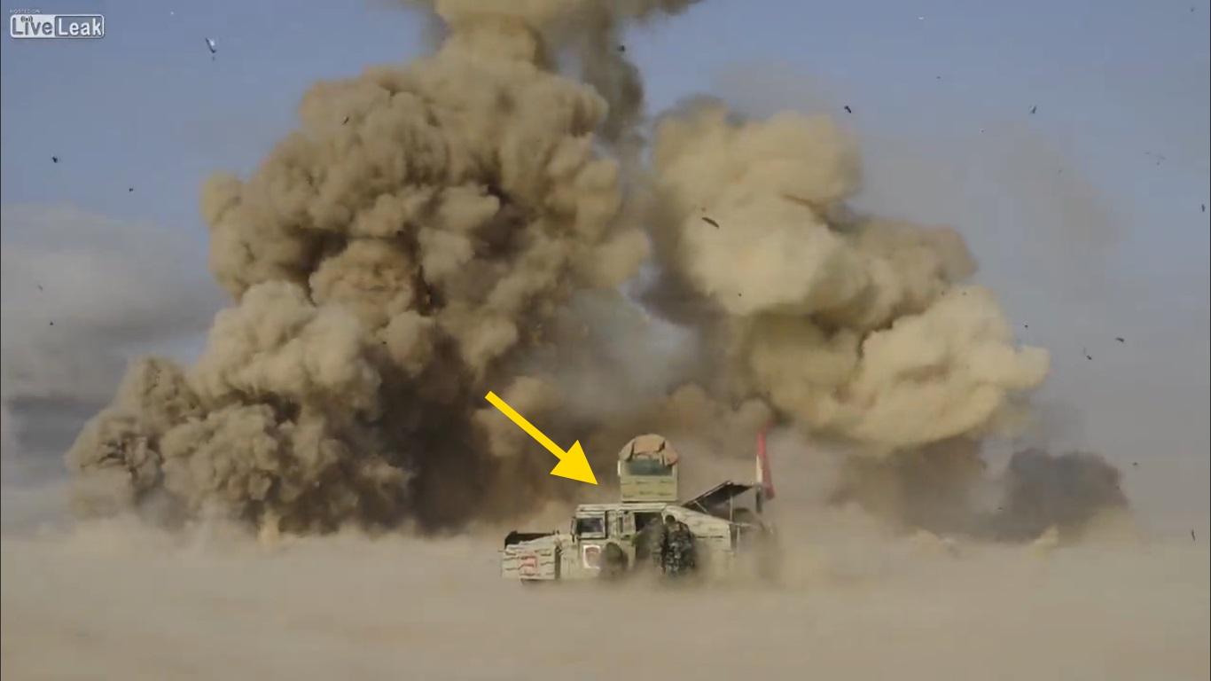 ดูคลิปของจริงไม่เหมือนในหนัง!! สิบห้านาทีของการบุกโจมตีไอเอส ของทหารอิรัก