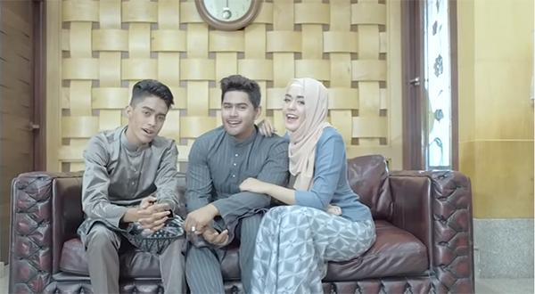 สุดยอดเพลง Suasana Hari Raya เวอร์ชั่นไทย  ร้องโดย 3 พี่น้องจากนราธิวาส