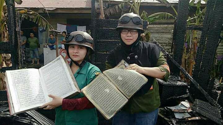 บ้านถูกเผาไหม้ทั้งหลัง เหลือแต่คัมภีร์อัลกุรอาน...อัลลอฮุอักบักร!!! (ชมคลิป)